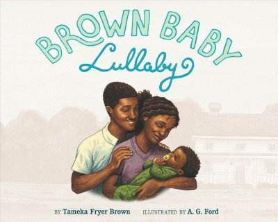 Book cover for Brown Baby Lullaby
