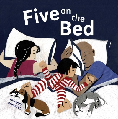 Book cover: Five on the Bed