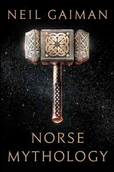 Book cover: Norse Mythology by Neil Gaiman