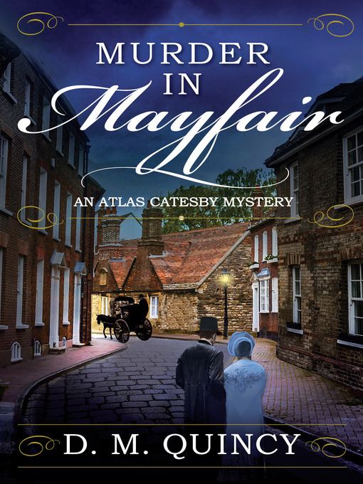 Book cover for Murder in Mayfair