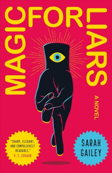 book cover for Magic for Liars