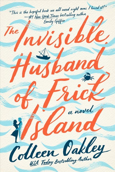 The book cover for The Invisible Husband of Frick Island