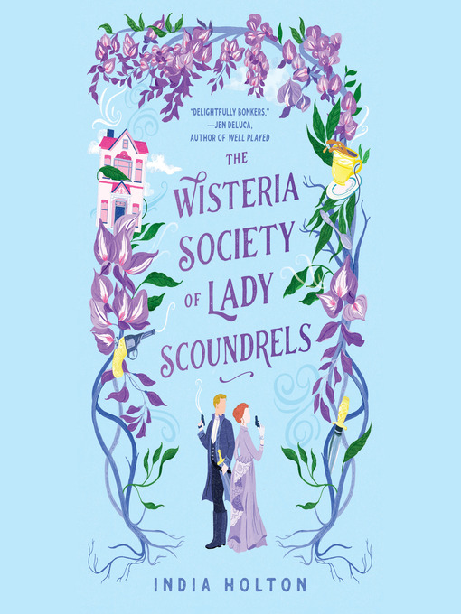 Book cover for The Wisteria Society of Lady Scoundrels